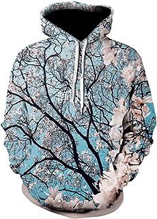Cherry Blossoms Hoodies 3D Sweatshirt Men Women Tracksuit Causal Streetwear Plus Size Hoody Male Pullover Hoodies