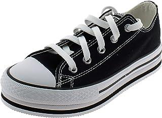 Converse Chuck Taylor All Star EVA Platform Chaussures DE Sport Noires Fille 670033C