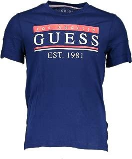 Guess Men's Cn Ss 81 Stripes Tee T-Shirts
