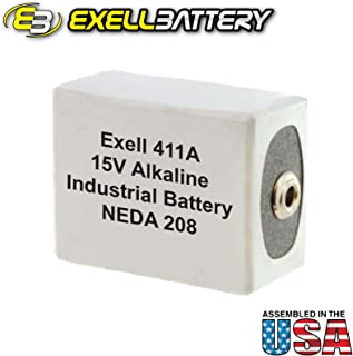 Exell Battery 411A Replacement Battery For Burgess K10 U10 FAST SHIP