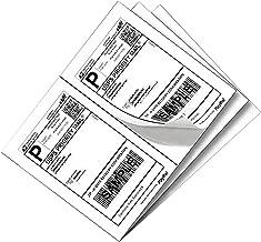 SJPACK 1000 Half Sheet Self Adhesive Shipping Labels 8.5