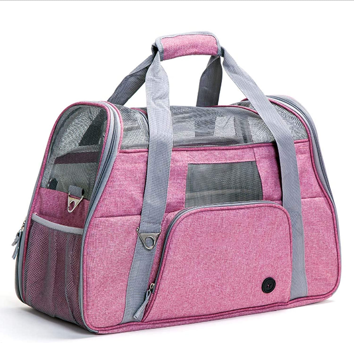 Pet Carrier, pet Portable Diagonal Bag, Airline Approved  SoftEdged cat Travel Handbag Suitable for Dogs and Cats,NO2
