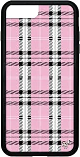 Wildflower Limited Edition Cases for iPhone 6 Plus, 7 Plus, or 8 Plus (Pink Plaid)