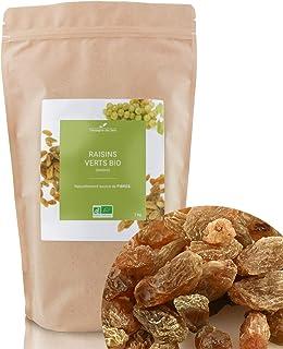 Raisins Verts BIO - Fruits séchés en vrac - 1kg