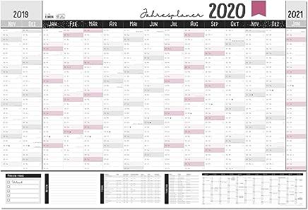 Jahresplaner 2020 Xxl Gr Als Din A1 Wandkalender 19 20 Im