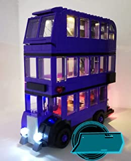 brickled LED Light Kit for Lego Knight Bus Harry Potter 75957 USB Power (Lego Set no Included)