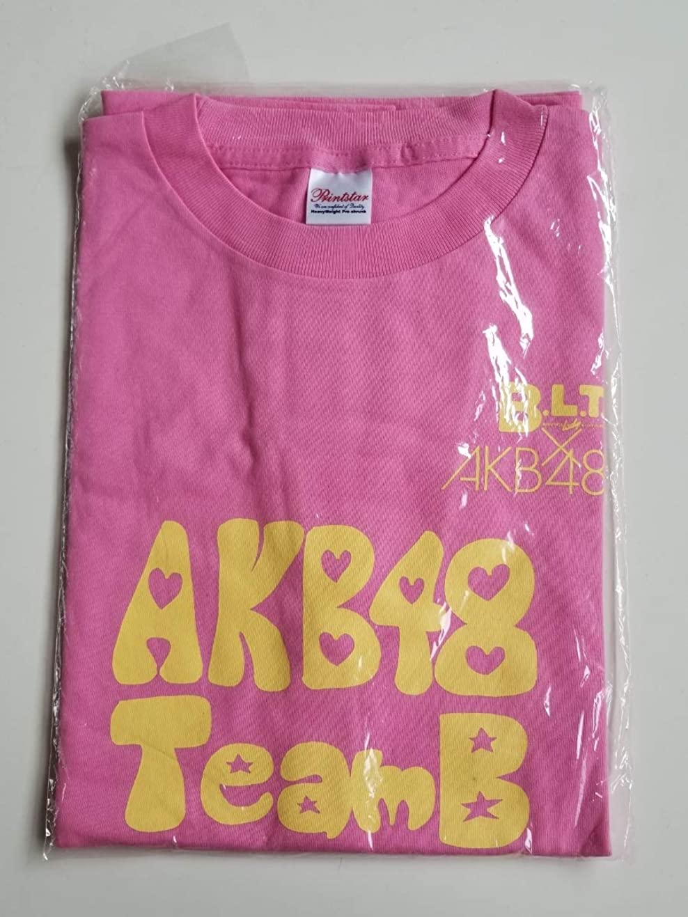 決済経営者感謝AKB48AKB48 鈴木まりや BLTコラボ Tシャツ 直筆サイン ?Mサイズ? JC255