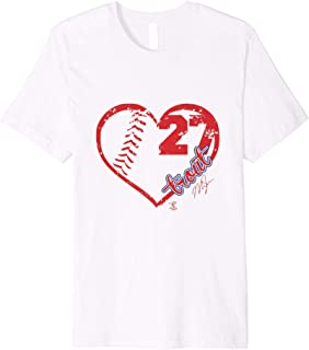 Mike Trout Heart Team T-Shirt - Apparel