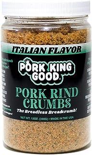 keto diet italian bread crumb coating
