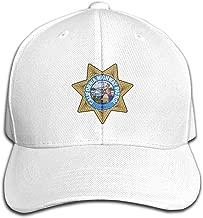 Hafjaiasfj California Highway Patrol Pure Color Cap New Trend, Casual Fashion.