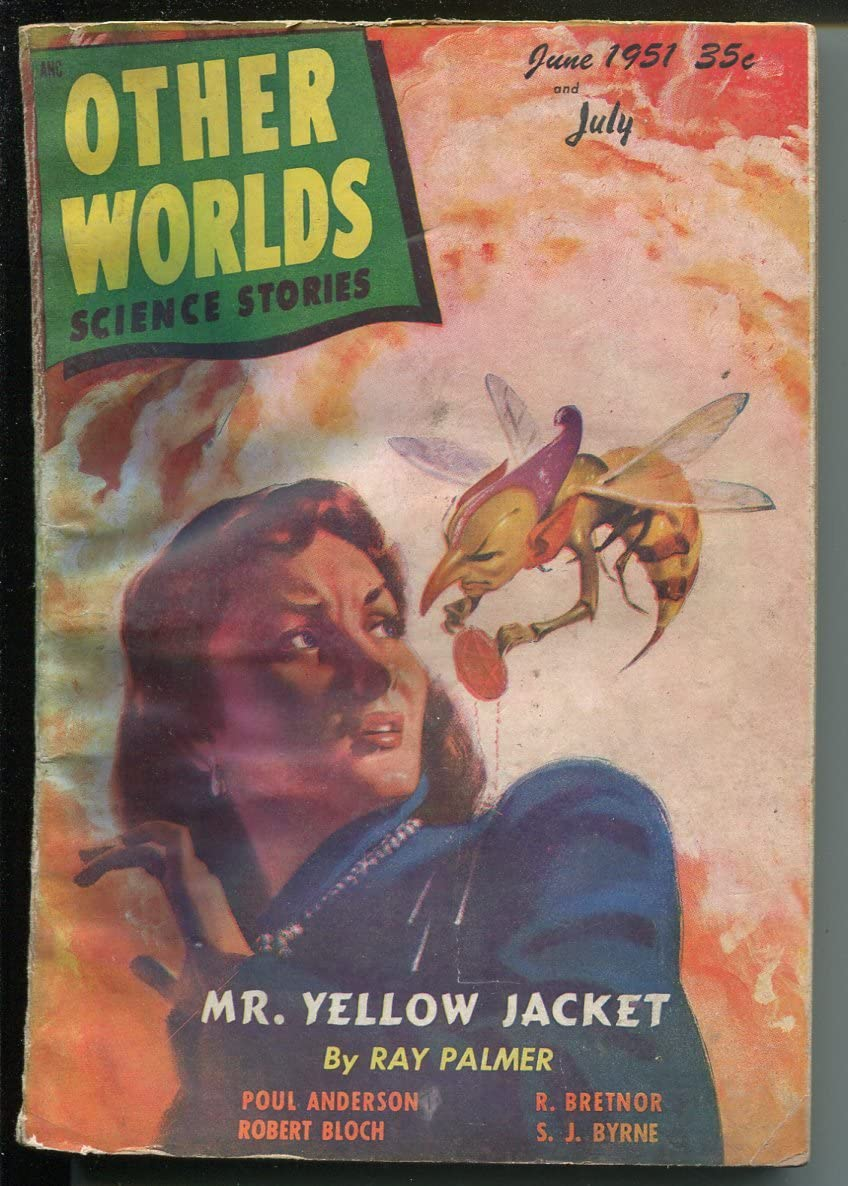 Other Worlds New product type 7 1951 Clark pulp-bizarre cover-B horror Pub-sci-fi Attention brand