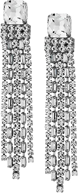 Glitzville Chain Fringe Earrings