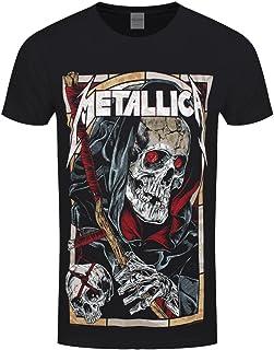 8d340fa5d54 METALLICA T Shirt Death Reaper Band Logo New Official Mens Black