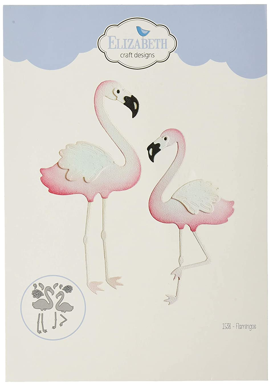 Elizabeth Craft Designs 1538 Scrapbooking, Multicolor