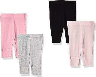 Baby Girls' 4-Pack Pants