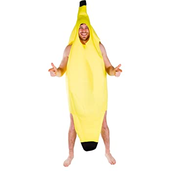 Neborn Cosplay Divertido Disfraz de plátano Sexy Hombres Juego ...