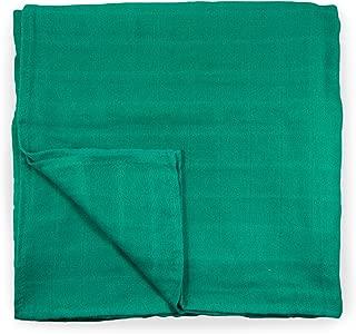 Cute New York Muslin Cotton Blanket (Green)