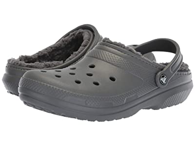Crocs Classic Lined Clog (Slate Grey/Smoke) Clog Shoes