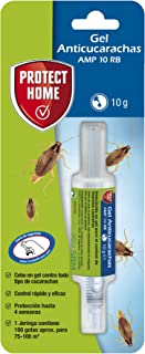 Protect Home Gel Anticucarachas, Cebo de accion inmediata, eficacia Total, 1 jeringuilla Anti Cuc...
