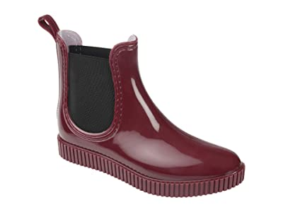 Journee Collection Comfort Foam Drip Rain Boot (Red) Women