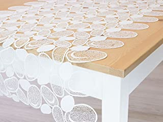 PLAUENER SPITZE Tischband Tischläufer Tischdeckchen Tischdecke OSTERN 20x153cm