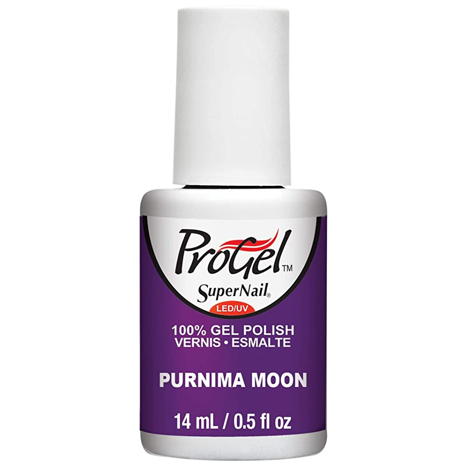 罪人表示涙SuperNail ProGel Gel Polish - Purnima Moon - 0.5oz / 14ml