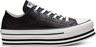 CONVERSE ALL STAR Lift Ox Womens Sneakers Silver