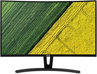 "Acer ED273A 27"" Full HD Curve Display Monitor, 1920 x 1080, DVI, HDMI, DisplayPort, Audio out,Black"
