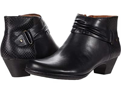 Rockport Brynn Rouched Boot (Black 1) Women