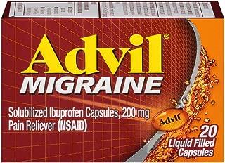 Advil Migraine Liquid Filled Capsules - 20 ct, Pack of 5