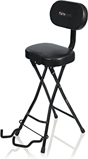 Gator Frameworks Guitar Seat with Padded Cushion,...