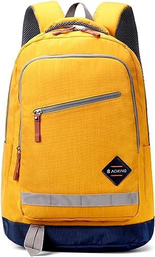 MIMI KING Schulrucksack Casual Laptop Bag Für Teen Girls Boys College Reisetaschen