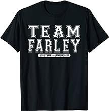 Team FARLEY Family Surname Reunion Crew Member Gift T-Shirt