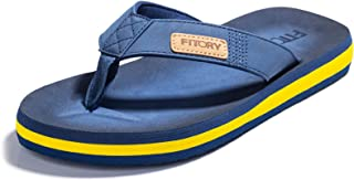 Sponsored Ad - FITORY Men's Flip-Flops, Thongs Sandals Comfort Slippers for Beach Size 7-13