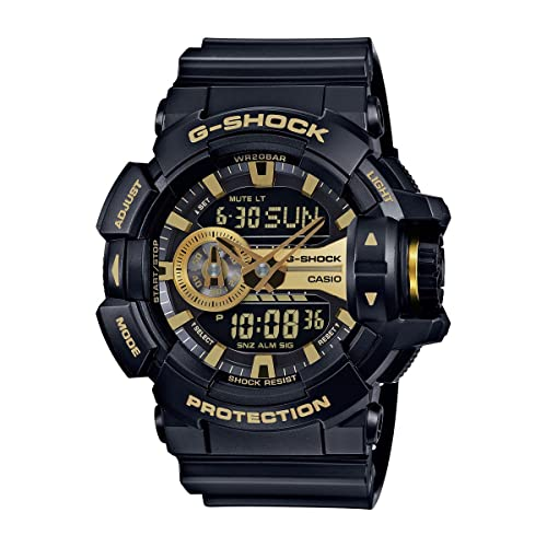 d46750fa48fed Casio G-Shock GA-400GB Garish Series Watches - Black Gold   One