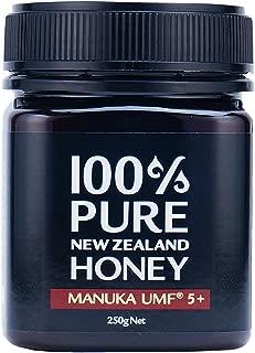 【 マヌカハニー 】 100% PURE NEW ZEALAND HONEY UMF5+ マヌカ 蜂蜜 (250g) ニュージーランド産 マヌカ蜂蜜