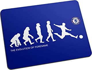 Official Personalised Chelsea FC Evolution Mouse Mat