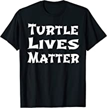 Ninja Style Cute Turtle Lives Matter Save Turtles T-Shirt