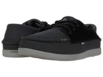 Reef Cushion Bounce Cove (Black/Charcoal) Men