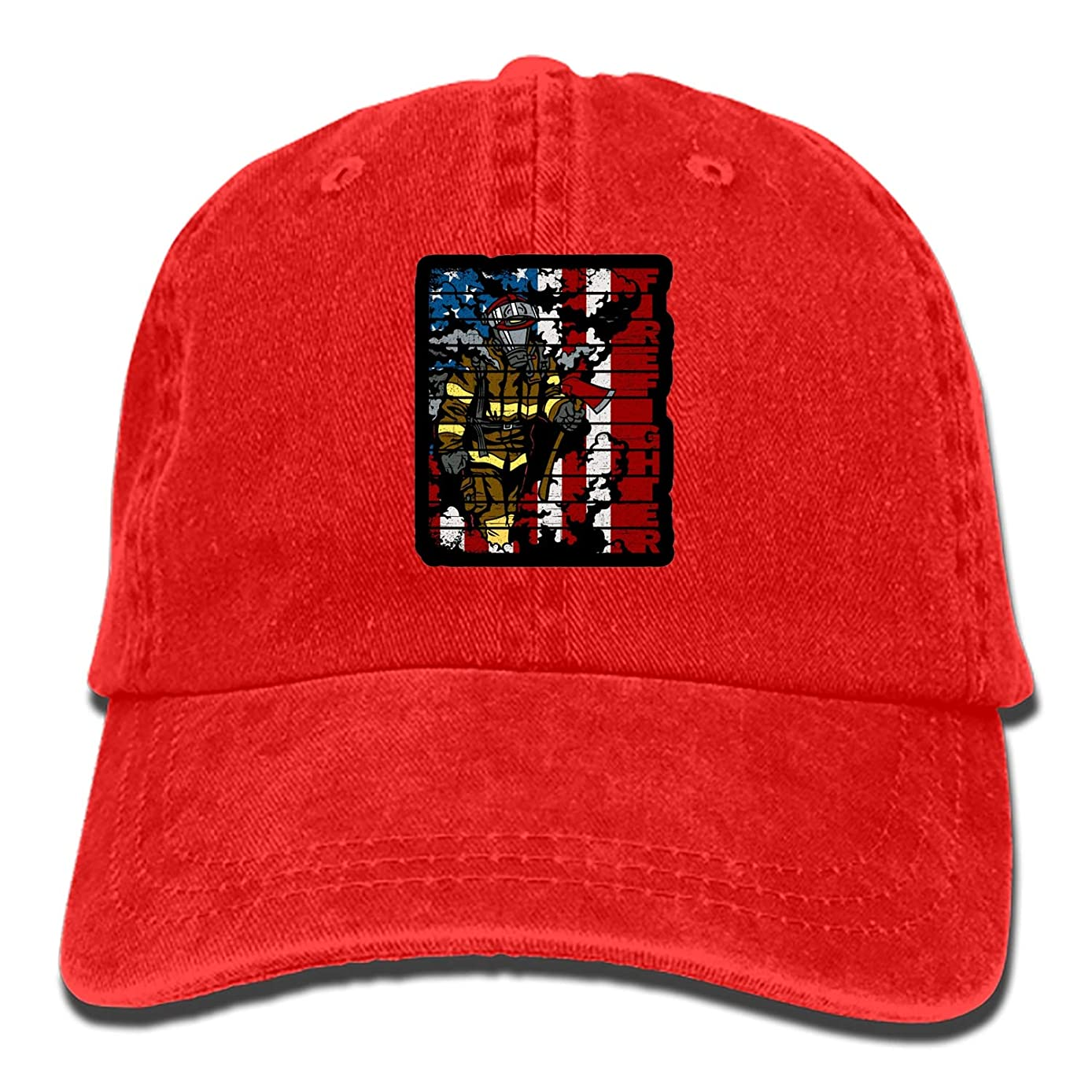 nadoab African Animals () Plain Adjustable Cowboy Cap Denim Hat for Women and Men