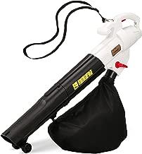 NETTA 3 in 1 Leaf Blower, 3000W Garden Vac & Shredder,45L Collection Bag, 10:1 Shredding Ratio, Automatic Mulching, Leaf and Dust Hoover Vacuum