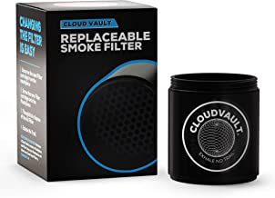 Cloud Vault Filter x 1 (Replacement Filter) Smoke Without Smells & Haze from Tobacco herb etc Personal air Filter