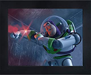 """Toy Story Buzz Lightyear 3D Poster Wall Art Decor Framed 