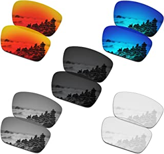 Set of 5 Men's Replacement Lenses for Oakley Fuel Cell Sunglass Combo Pack S01