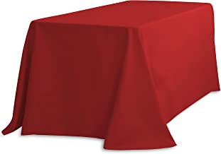 LinenTablecloth 156 Inch Rectangular Polyester Tablecloth