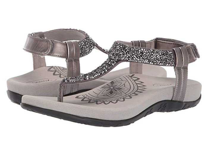 Aetrex  Jade (Gunmetal) Womens Sandals