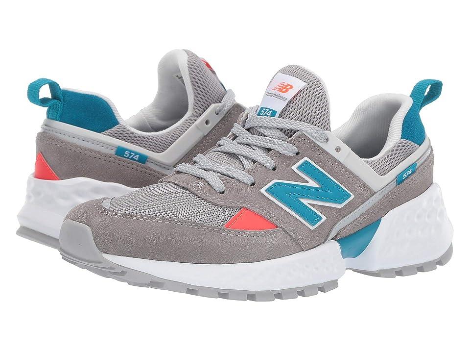 New Balance Kids GS574v2 (Big Kid) (Marblehead/Deep Ozone Blue) Boys Shoes