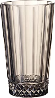Villeroy & Boch Opéra Smoke Vasos para combinados, Set de 4, 340 ml, Vidrio de cristal, Transparente/Gris