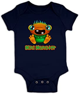 Kids Clothing By Big Mouth Baby Strampler Mini Monster