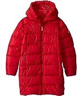 Shiny Iridescent Long Coat (Little Kid/Big Kid)